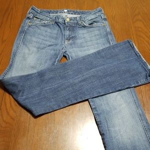 7 for all mankind A pocket jean 27 K216:4:618